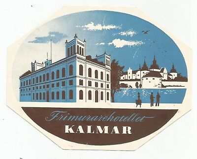 HOTEL TRIMURARE luggage label (KALMAR)
