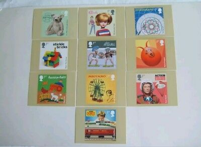 CLASSIC TOYS NEW SEALED PHQ CARDS SET OF 10. No 433 ISSUE 22/08/17 Cindy....