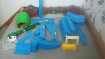 Bundle Of Tomy Trackmaster . Over 70 Pieces Of Train Track . Tidmouth Sheds Ect