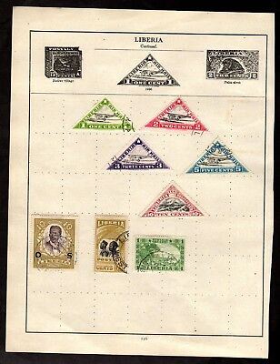 Stamps ~ LIBERIA LIBERIAN ~ Early Unsorted