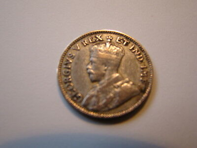 East Africa 50 Cents / Half Shilling 1921 Silver Coin
