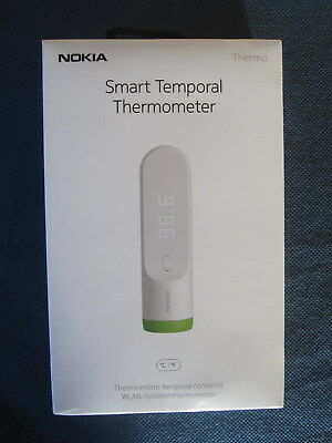 Genuine Nokia Thermo Smart Temporal Thermometer New In Sealed Carton!