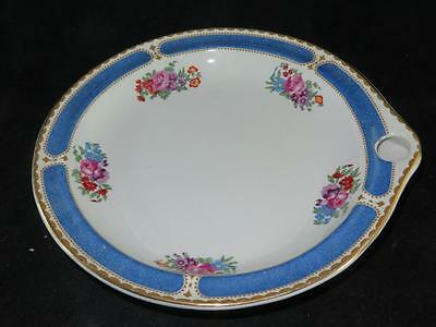 VINTAGE BOOTHS SILICON CHINA Warming Dish Orchard Pattern 1920s