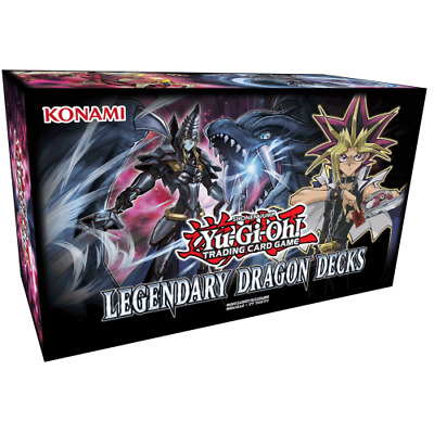YU-GI-OH! LEGENDARY DECKS * Legendary Dragon Decks