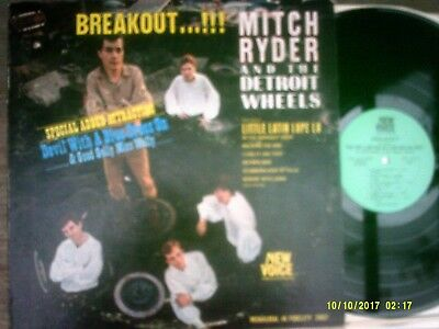 "MITCH RYDER & THE DETROIT WHEELS ~ ""Breakout!!"" (New Voice) US 1966 - ORIGINAL!"