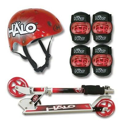 HALO 120mm Scooter Combo Set - Red