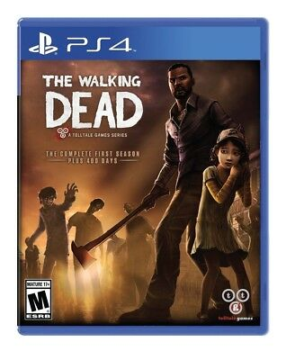 The Walking Dead: The Complete First Season Telltale Games Playstation 4 Edition