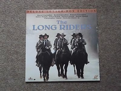 THE LONG RIDERS (Carradine Brothers) Deluxe Letter-Box Edition NTSC LASERDISC