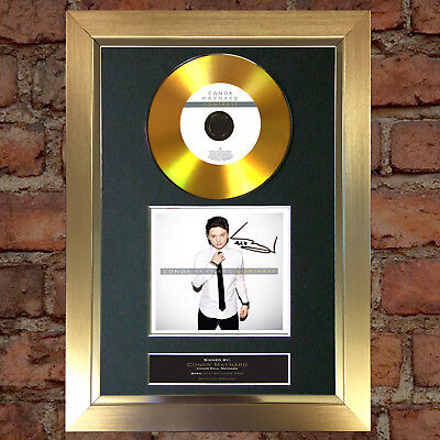 GOLD DISC CONOR MAYNARD Contrast Album Signed Autograph Mounted Repro A4 #97
