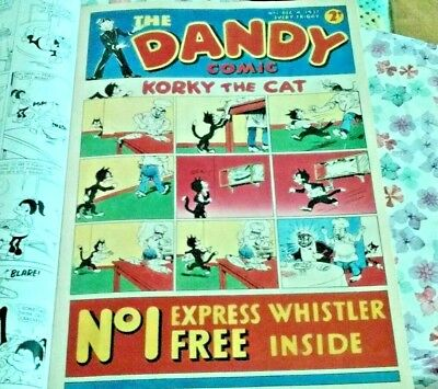 Last ever Issue of THE DANDY.includes.The Very 1st DANDY Comic