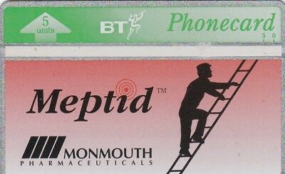 BT Phonecard, BTM022 5u Meptid, control #428L, mint, cat £100