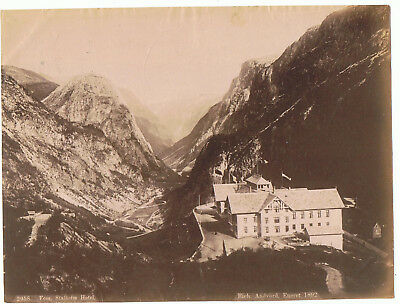 Unmounted  Photograph  Norway  By Axel Lindahl - 2958 Voss , Stalheim Hotel