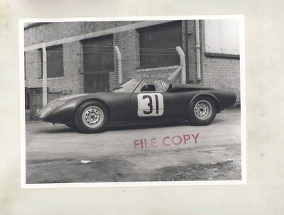 1965 Rover BRM II Turbine Race Car ORIGINAL Factory Photograph wy5874