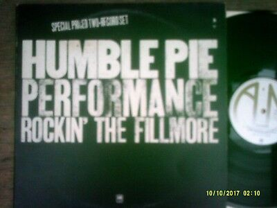 """HUMBLE PIE  ~ """"Rockin' The Fillmore"""" (A & M) UK 1971 - LATER PRESSING!"""