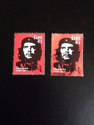 "Ireland  2017 ""che Guevara "" €1 Stamp Unmtd Mint And Fine Used .scan"