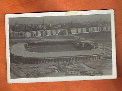 Rp Postcard  Cricket Ground  Brabourne Stadium Bombay .