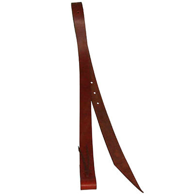 Hilason Western Horse Tack Burgundy Leather Tie Strap