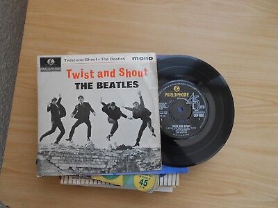 The Beatles=Twist And Shout  E.p.   P/c  Ex