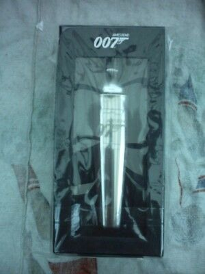 New/boxed Official James Bond-007 Silver Cocktail Shaker