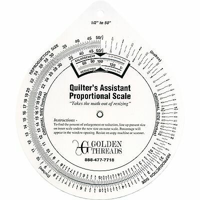 Quilter's Assistant Proportional Scale