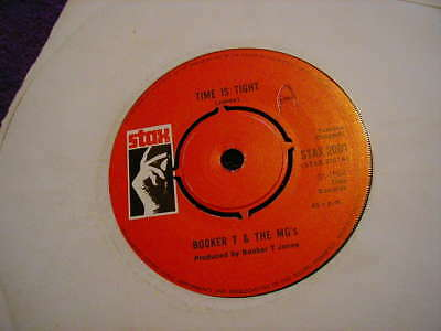 """BOOKER T & THE MG's, TIME IS TIGHT B/W SOUL LIMBO ,7"""" VINYL"""