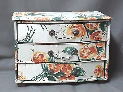 ANTIQUE BOX FOR DRAWERS cardboard box and fabric - VINTAGE…