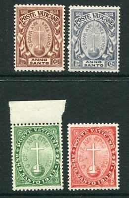 VATICAN 1933 HOLY YEAR MNH set 4 Stamps