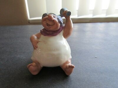 1940 Vintage DISNEY'S FANTASIA BACCHUS CERAMIC FIGURINE (Made In California)