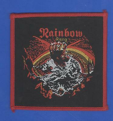 Ritchie Blackmore Rainbow Rising vintage 1980s SEW-ON PATCH