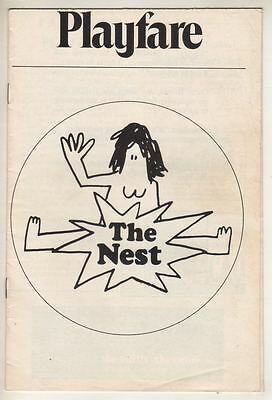 """Tina Howe  """"The Nest""""  FLOP   Playbill  1970  PREVIEW  Jill Clayburgh"""