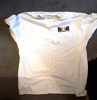 """Vintage Mens Gay New York Big Muscle Bear Cotton T-Shirt. Unwashed. XL. Ch: 48"""""""