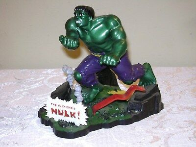 Vintage 1966 Aurora THE INCREDIBLE HULK Model Built Up