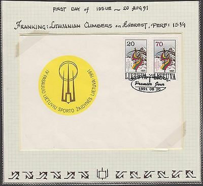 Lithuania, 1991, cover. kn973