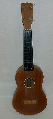 "Vintage Ukulele (21"" Long) Wood Body with Nylon Strings in Very Good Condition"