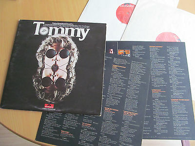The Who - Tommy. Ost. 1975 Polydor Dbl Lp With Inner Sleeves