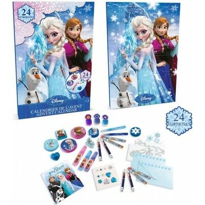 Disney Frozen Advent Calendar with 24 Surprise Gifts - Brand New!