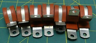 Adel MS21919WH10 Steel Clamps, Lot of 7