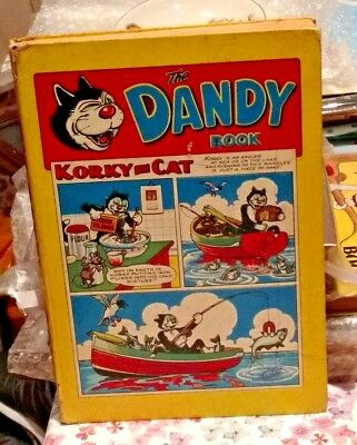 DANDY BOOK Annual 1958..DC Thomson beano..nice one