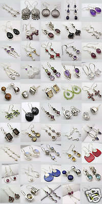 Wholesale Lot! 925 Silver Earrings! 50 Amazing Pairs!