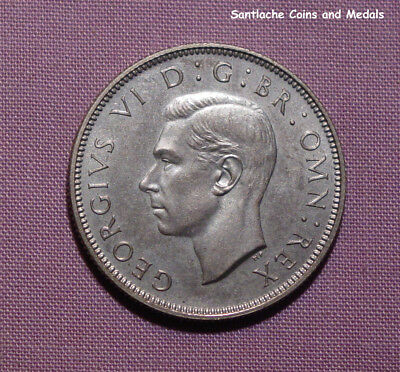 1937 KING GEORGE VI PROOF FLORIN - aFDC - Nice Example