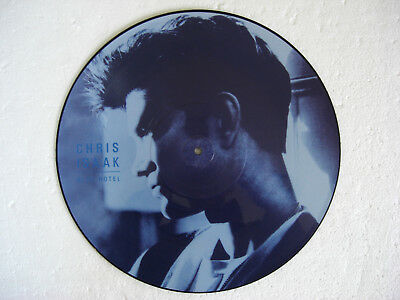 """CHRIS ISAAK * Blue Hotel + 2 * PICTURE DISC 12"""" 1987"""