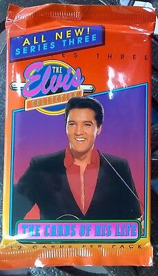1993 The River Group Elvis Presley Series 3 Trading Card Pack