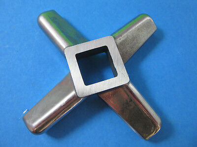 #32 S/Steel Meat Grinder Knife HEAVY DUTY Hobart 4332 4532 4732 Biro Berkel