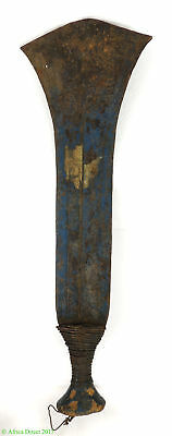 Kuba Knife Forged Iron Currency Blue Congo African Art SALE WAS $99