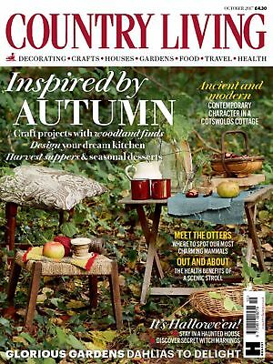 New Country Living Magazine October 2017