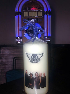 Aerosmith Candle  Starz Crafts Unique  Collection Limited Edition
