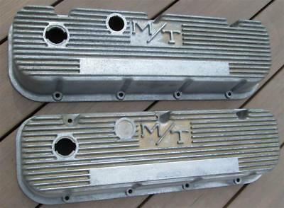 Mickey Thompson Big Block Chevy Valve Covers Finned Aluminum 396 427 454 AWESOME