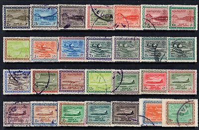 Saudi Arabia - Collection Of 28 Old Stamps - Good Used - High Cat. £