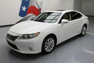 2015 Lexus ES300h Base Sedan 4-Door 2015 LEXUS ES300H HYBRID LUXURY LEATHER SUNROOF NAV 47K #078172 Texas Direct