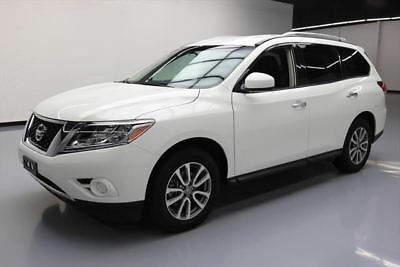 2016 Nissan Pathfinder  2016 NISSAN PATHFINDER S 4X4 7-PASS ALLOY WHEELS 45K MI #605386 Texas Direct
